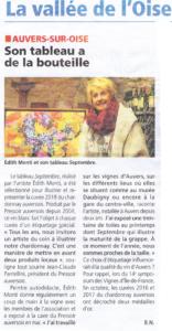 """Article sur l'exposition au """"Pressoir auversois"""""""